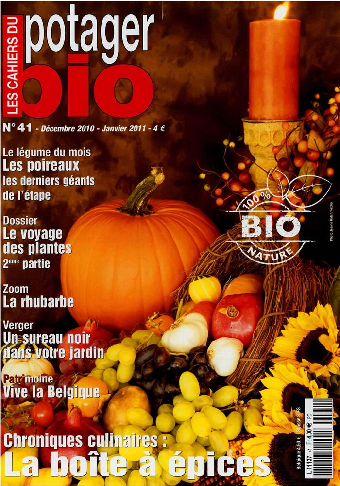 Les cahiers du potager bio n 41 the organic vegetable for Potager bio