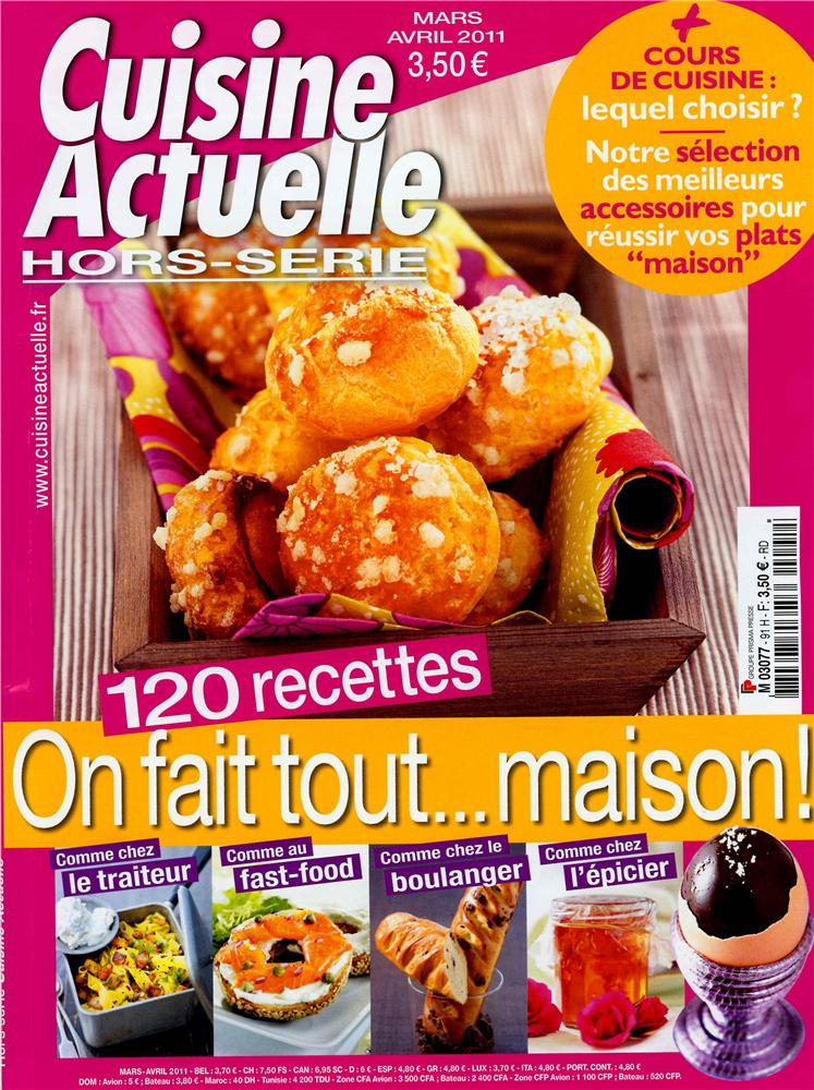 Cuisine actuelle hors s rie cooking trends special for Cuisine actuelle