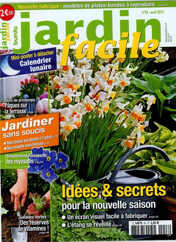 jardin facile n 53 easy gardening n 53 tom press. Black Bedroom Furniture Sets. Home Design Ideas