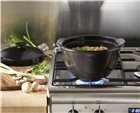 One Pot casserole 22 cm anthracite ceramic Charcoal Emile Henry