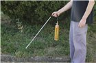 Cartridge cane weeder with piezo