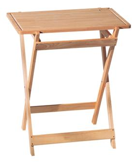 Rubber tree folding table