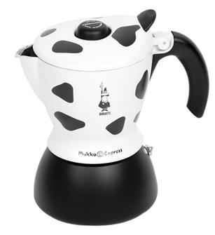 Italian coffee maker for cappuccino 2 cups