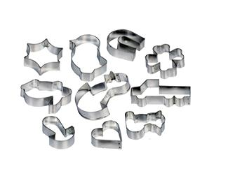 10 biscuit cutters