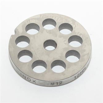12 mm stainless steel plate for n°12 grinder