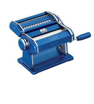 Blue Marcato pasta-making machine
