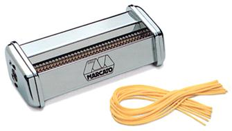Spaghetti accessory for Atlas pasta-making machine