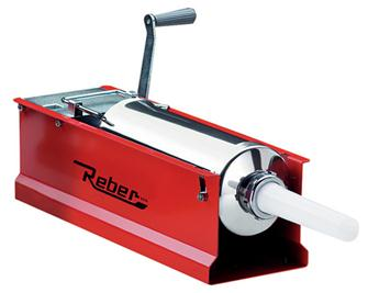 Horizontal 6.5 litres Reber meat stuffer