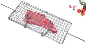 Grill basket for fish, chops, sausages…