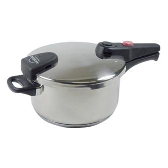 Pressure cooker with bayonet closing 6 litres