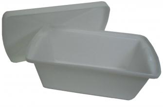 Solid 36 litre food bin with lid