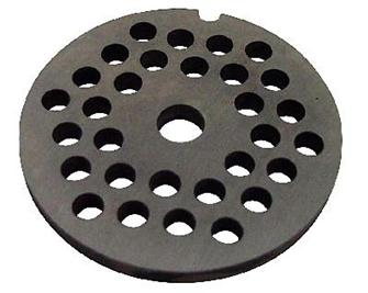 8 mm plate for N° 5 type meat grinder