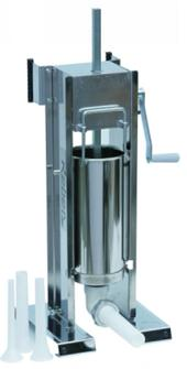 Vertical/horizontal stainless steel 6.5 litre sausage filler