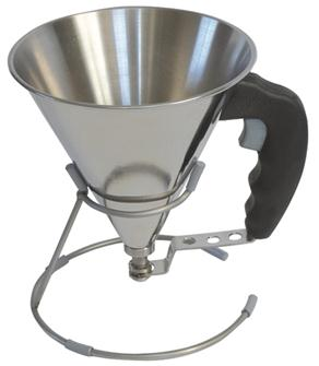 Measuring funnel with valve 0.8 litre