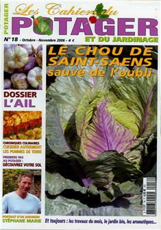 Les cahiers du potager n°18 (The kitchen garden notebook n°18)