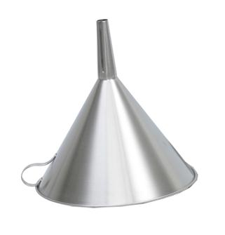 Stainless steel 25 cm filter funnel