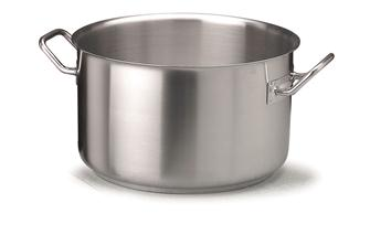 Stainless steel induction hob stewpot 50 cm, 58 litres