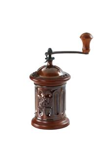 Round coffee mill