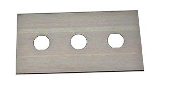 Replacement blade for safety cutter.