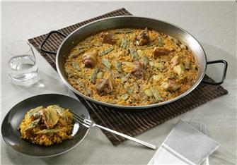 """Recipe for """"""""Valencia"""""""" paella"""