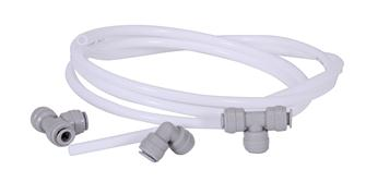 Hose connector kit for automatic seed sprouter