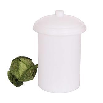 Plastic 15 litre sauerkraut pot