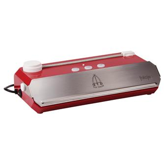 Tre Spade vacuum sealing machine - red