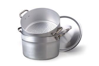 Aluminium couscous cooking pot - 32 cm - for steaming