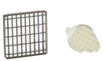 Grid and pusher 10x20 mm for professional chip cutter