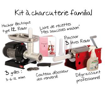 Kit for making cooked meats at home