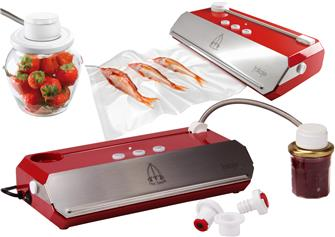 How does it work: vacuum packing