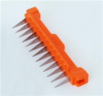 Additional 7 mm comb for a cube mandolin wire