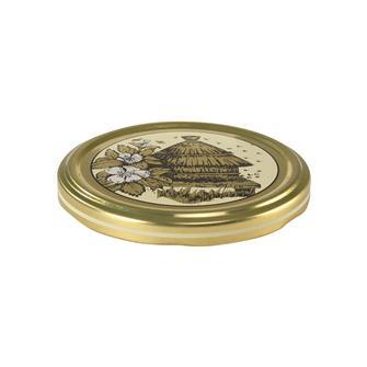 Beehive honey jar lids - 82 mm by 11