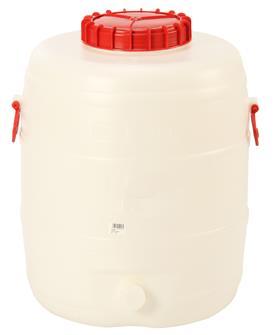 Cylindrical food grade keg - 80 litres