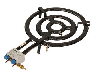 Professional paella burner 50 cm with thermocouples