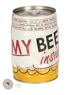 Empty 5 litre draught beer keg