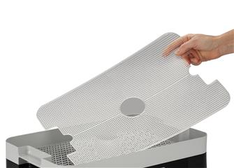 See through grill for rectangular dehydrator
