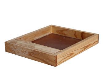 Dadant 10 frame hive wood feeder