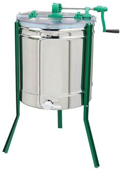 Radial manual honey extractor