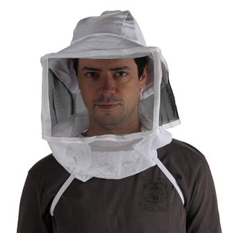 beekeeper´s square folding veil with hat