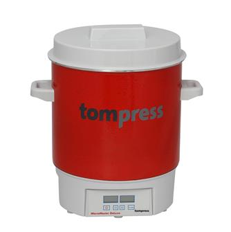 Enamelled electric digital Tom Press steriliser