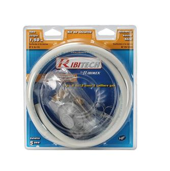 Gas pipe collar and butane regulator kit