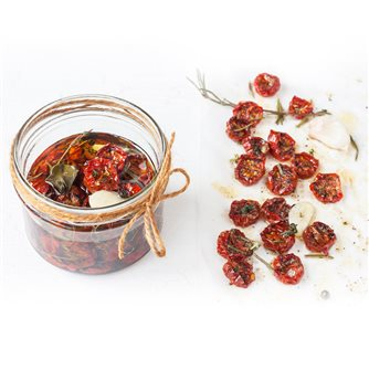 Italian style dried tomatoes