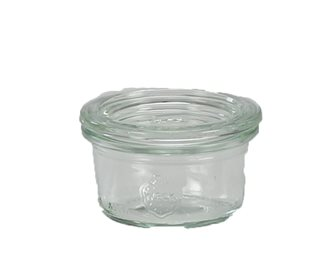 Mini Weck jars 50 ml x 12