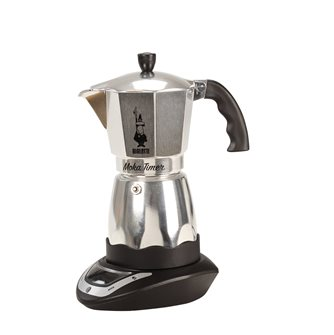 Electric coffee maker with programmer for 6 cups.