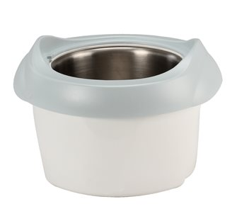 Bowl for a 1 litre electric sorbet machine