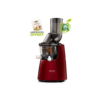 Juice Extractor Kuving's C9500 Premium Red Large Opening