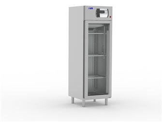 Stainless steel drying cabinet with glass door 500 l