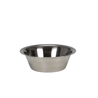 Stainless steel conical bowl 32 cm