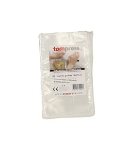 Vacuum seal bags - 15x25 cm by 100